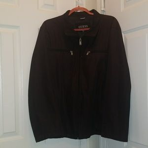 Guess Jacket Black Size XL